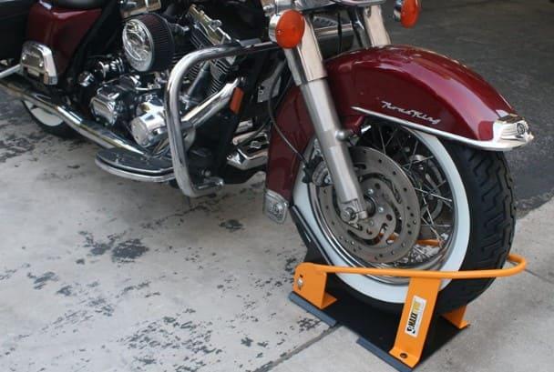 Soporte de rueda para moto